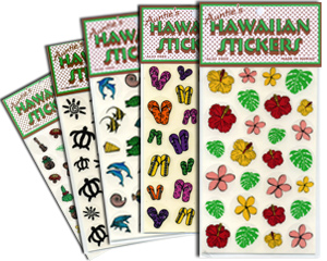 hawaiian stickers