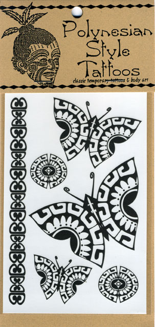 fa0800aa6 Polynesian Style Temporary Tattoos,Hawaiian and Polynesian inspired