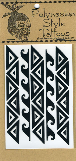 Polynesian Style Temporary Tattoos,Hawaiian and Polynesian inspired